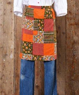 古着 Patchwork Print Apron |パッチワークプリントエプロン 古着のネット通販 古着屋グレープフルーツムーン