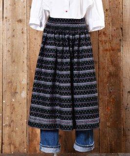古着 Shirring designed European Apron|ギャザー入りヨーロピアンエプロン 古着のネット通販 古着屋グレープフルーツムーン