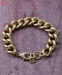 古着Chain Bracelet Heavy B | 喜平チェーン 真鍮製ブレスレット 古着のネット通販 古着屋グレープフルーツムーン