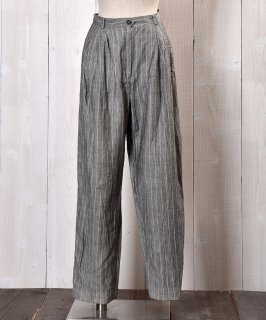 古着Made in Italy Linen Trousers|イタリア製リネン素材パンツ 古着のネット通販 古着屋グレープフルーツムーン