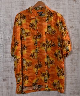 古着 GEORGE JAKE  short sleeve Shirt |半袖 レーヨン シャツ  古着のネット通販 古着屋グレープフルーツムーン