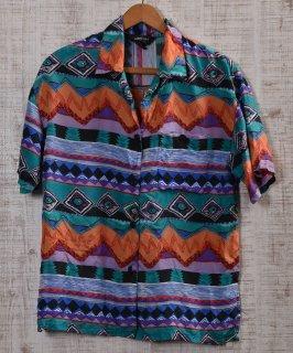 古着 Options  short sleeve Shirt |半袖 シルク シャツ  古着のネット通販 古着屋グレープフルーツムーン