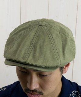 古着 Twist Yarn Stripe Cascket|キャスケット カーキ系 古着のネット通販 古着屋グレープフルーツムーン