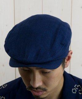 古着Light Fabric Hunting Cap|ライトファブリック ハンティングキャップ ネイビー系 古着のネット通販 古着屋グレープフルーツムーン