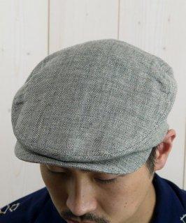古着Light Fabric Hunting Cap|ライトファブリック ハンティングキャップ グレー系 古着のネット通販 古着屋グレープフルーツムーン
