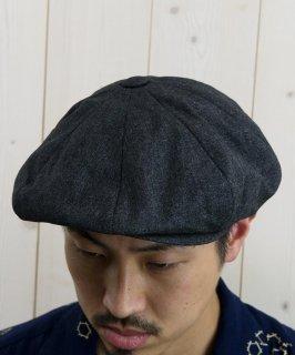 古着 Light Fabric Casquette Kasuri Pattern|キャスケット かすり柄 古着のネット通販 古着屋グレープフルーツムーン