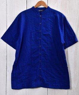 古着 China detail Short Sleeve Shirts|チャイナシャツ風半袖シャツ 古着のネット通販 古着屋グレープフルーツムーン