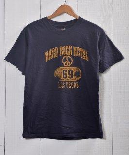 古着 Made in USA Hard Rock CAFE T Shirts Las Vegas | ハードロックカフェ プリントTシャツ ラスベガス アメリカ製 古着 ネット 通販 古着屋グレープフルーツムーン