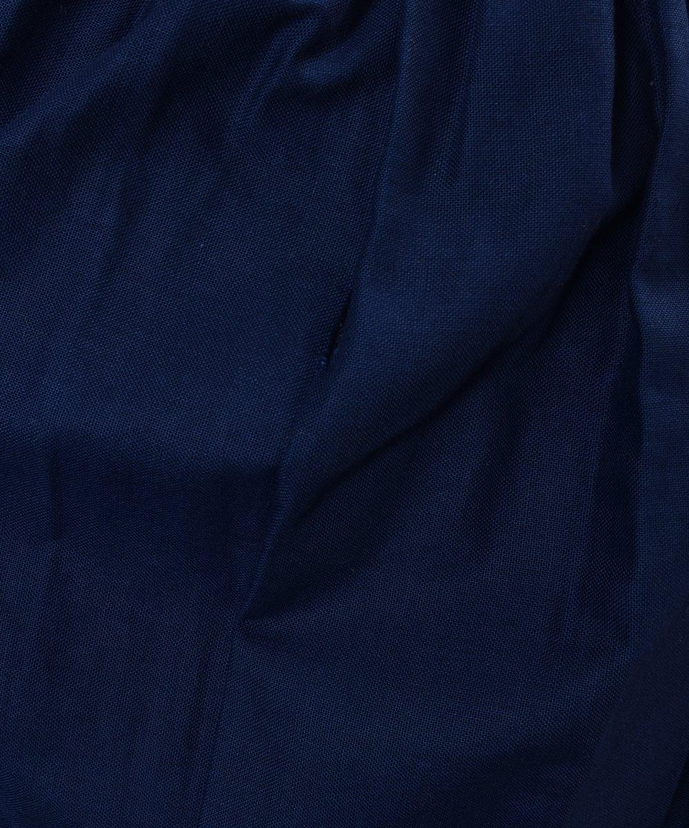 Navy Embroidery decoration Long Skirt 刺繍 飾り ロングスカート   ネイビー系サムネイル