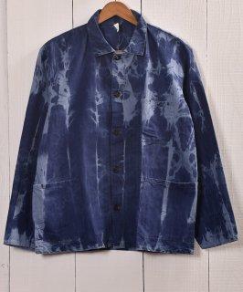 古着EURO  Bleach Work Jacket | ブリーチワークジャケット ユーロカバーオール 古着のネット通販 古着屋グレープフルーツムーン