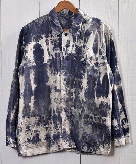 古着EURO Bleach Work Jacket | ブリーチワークジャケット ユーロタイプカバーオール C 古着のネット通販 古着屋グレープフルーツムーン