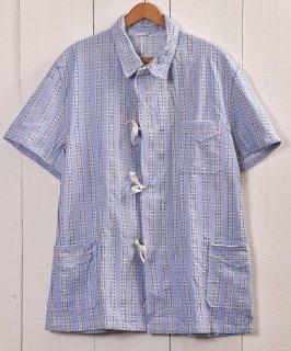 古着 EURO Military Sleeping Shirt Pajamas Bulgaria | ユーロミリタリー スリーピングシャツ・パジャマ ブルガリア軍 ブルー系B 古着のネット通販 古着屋グレープフルーツムーン