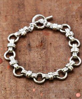古着Brass Bracelet KR3676 | 真鍮製 チェーンブレスレット  古着のネット通販 古着屋グレープフルーツムーン