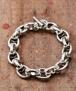 古着 Brass Bracelet KR5008  | 真鍮製 チェーンブレスレット  古着のネット通販 古着屋グレープフルーツムーン