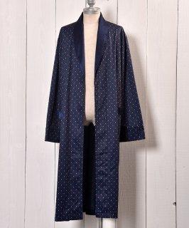 古着 Made in Europe Fine pattern Gown |ヨーロッパ製 小紋柄 ガウン 古着のネット通販 古着屋グレープフルーツムーン