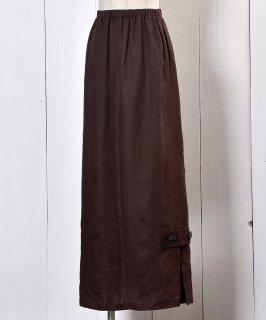 古着 Side-slit Flare Skirt |サイドスリット フレアスカート 古着のネット通販 古着屋グレープフルーツムーン