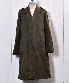 古着Netherland Army Cotton Satin Work Coat|オランダ軍コットンサテン ワークコート 古着のネット通販 古着屋グレープフルーツムーン