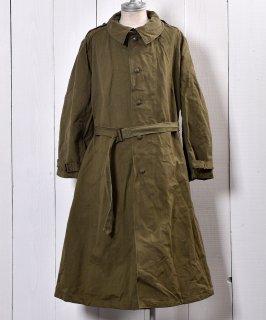 古着French Army M35 Motorcycle Coat Size9 |フランス軍 M35 モーターサイクルコート サイズ9 古着のネット通販 古着屋グレープフルーツムーン