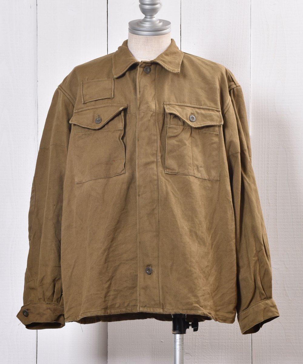 古着 Czech Military Work Jacket | チェコ軍 ミリタリー ワークジャケット | ヨーロッパミリタリー 古着 ネット 通販 古着屋グレープフルーツムーン