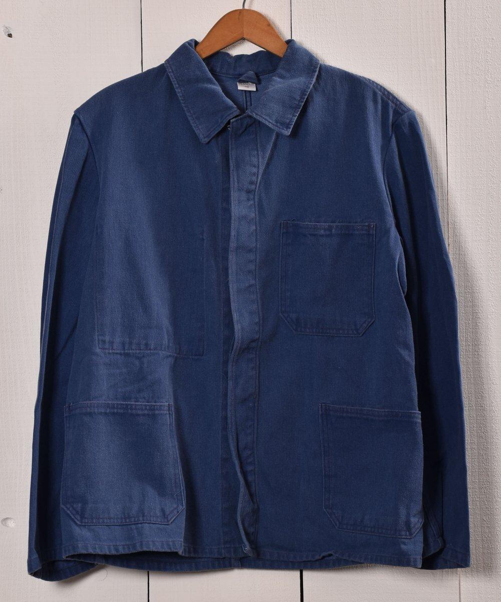 古着 Made in Germany Work Jacket | ドイツ製 ワークジャケット | ユーロワーク 古着 ネット 通販 古着屋グレープフルーツムーン