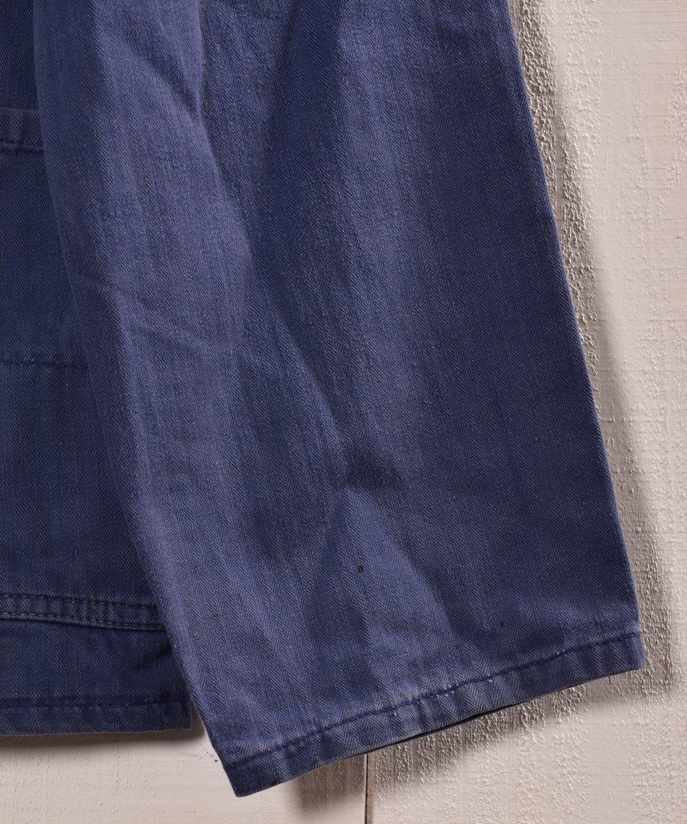 Made in Germany Herringbone Work Jacket   ドイツ製 ヘリンボーン ワークジャケット   ユーロワークサムネイル