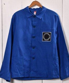 古着Made in Germany Company Logo Work Jacket | ドイツ製 企業ロゴ入り ワークジャケット  | ユーロワーク 古着のネット通販 古着屋グレープフルーツムーン