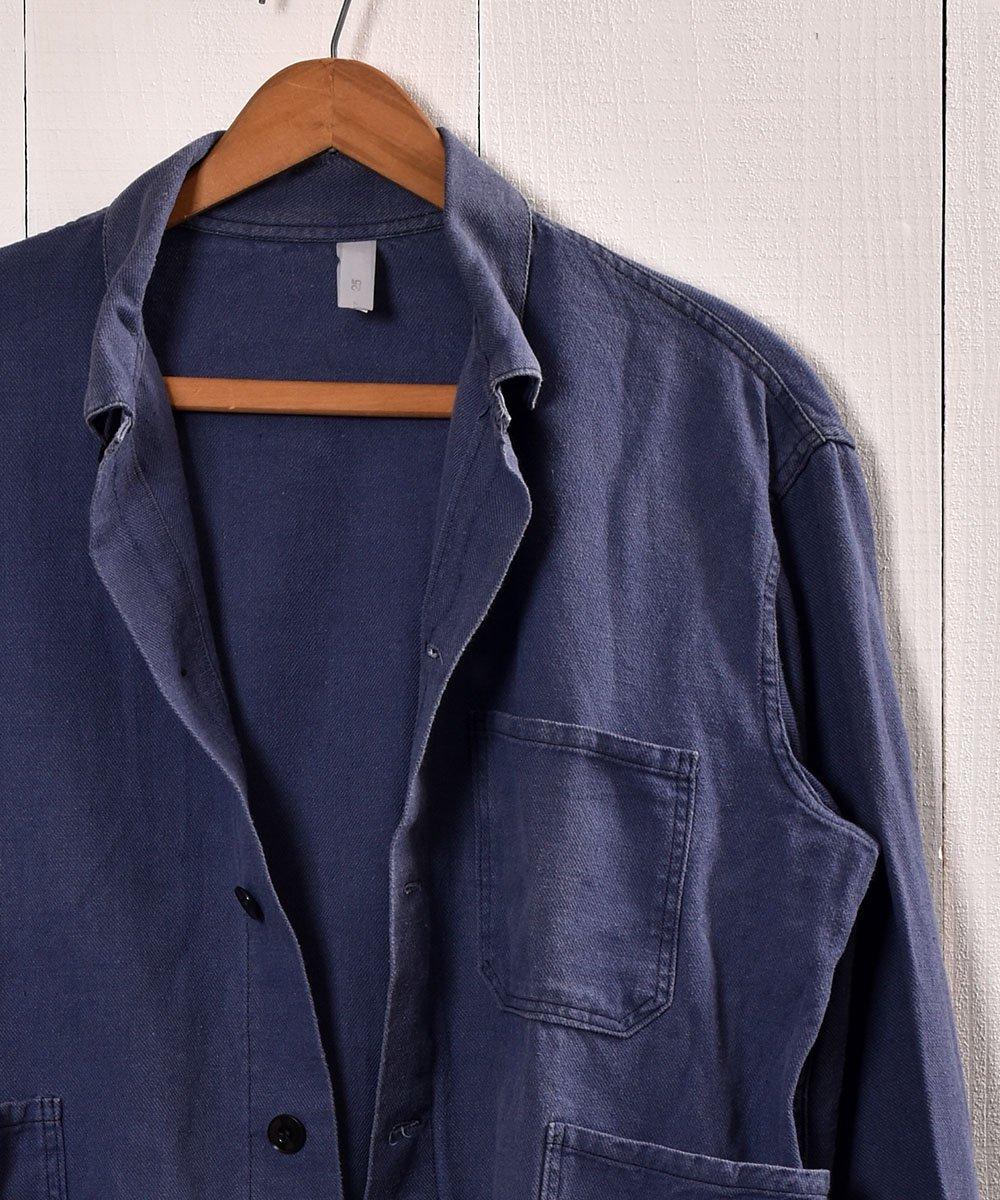 Made in Europe Cotton Twill Work Jacket   ヨーロッパ製 コットンツイル生地 ワークジャケット    ユーロワークサムネイル