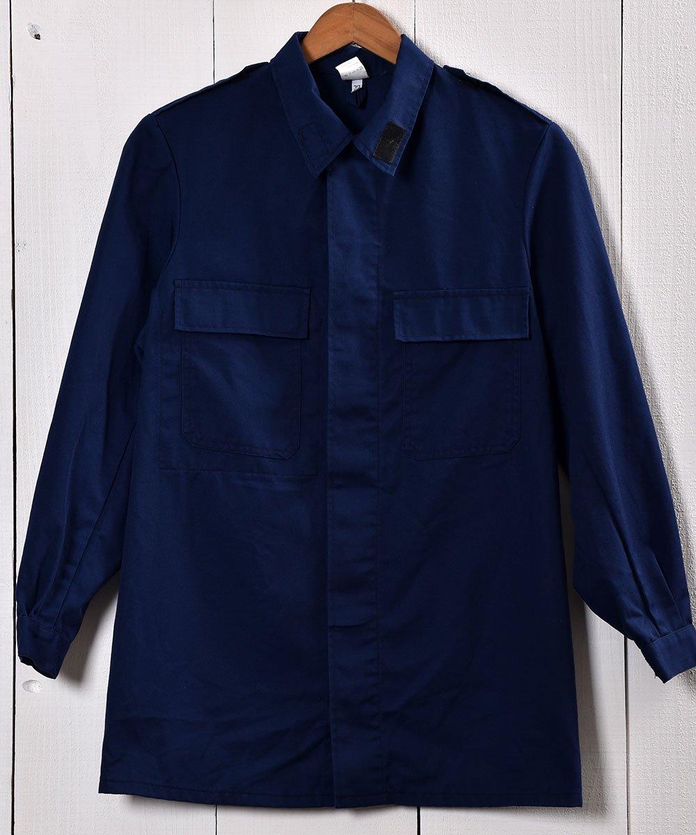 古着 Made in Europe Cotton Twill Work Jacket | ヨーロッパ製 ツイル生地 ワークジャケット  | ユーロワーク 古着 ネット 通販 古着屋グレープフルーツムーン