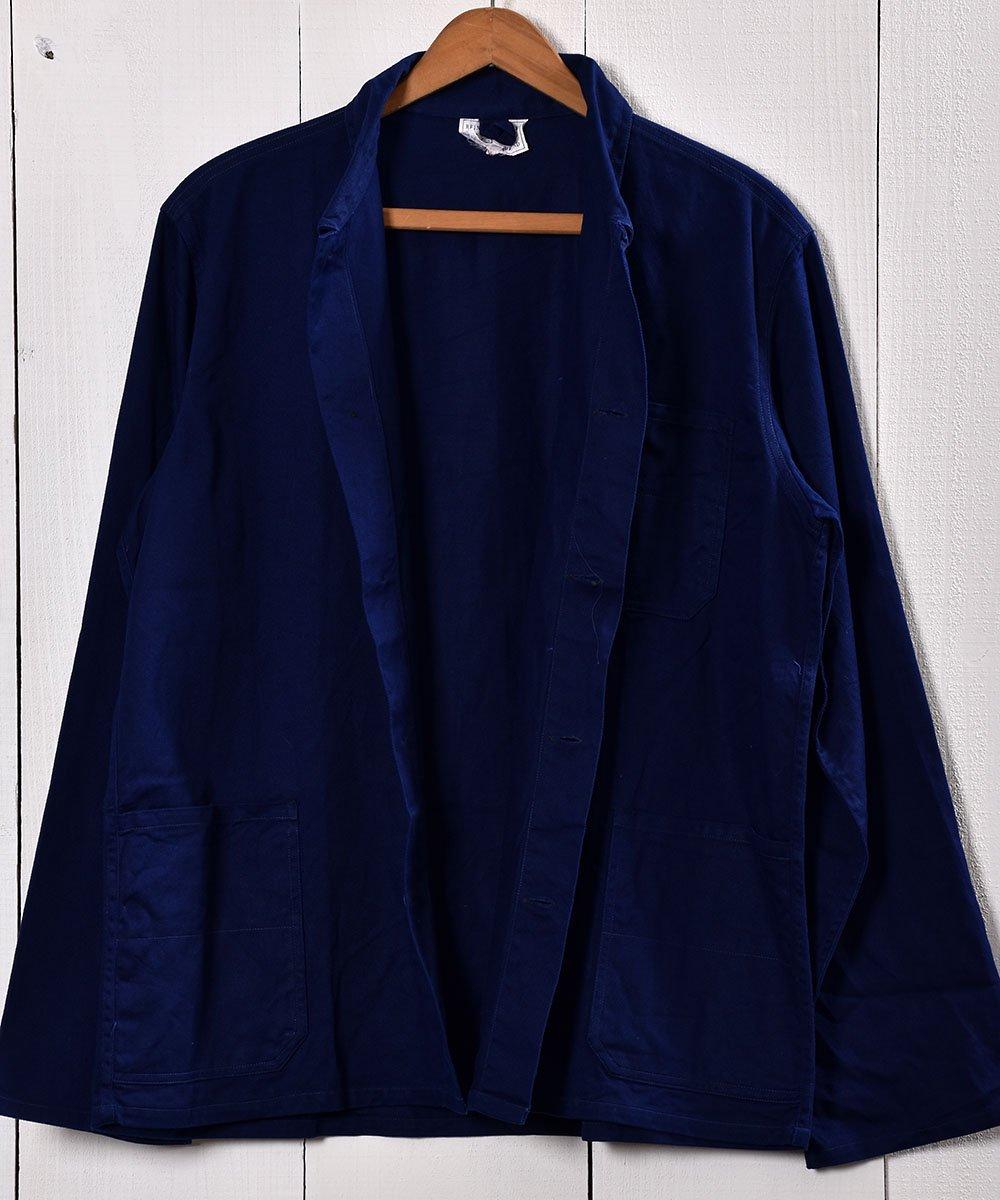 Made in Germany Cotton Twill Work Jacket   ドイツ製 コットンツイル生地 ワークジャケット    ユーロワークサムネイル