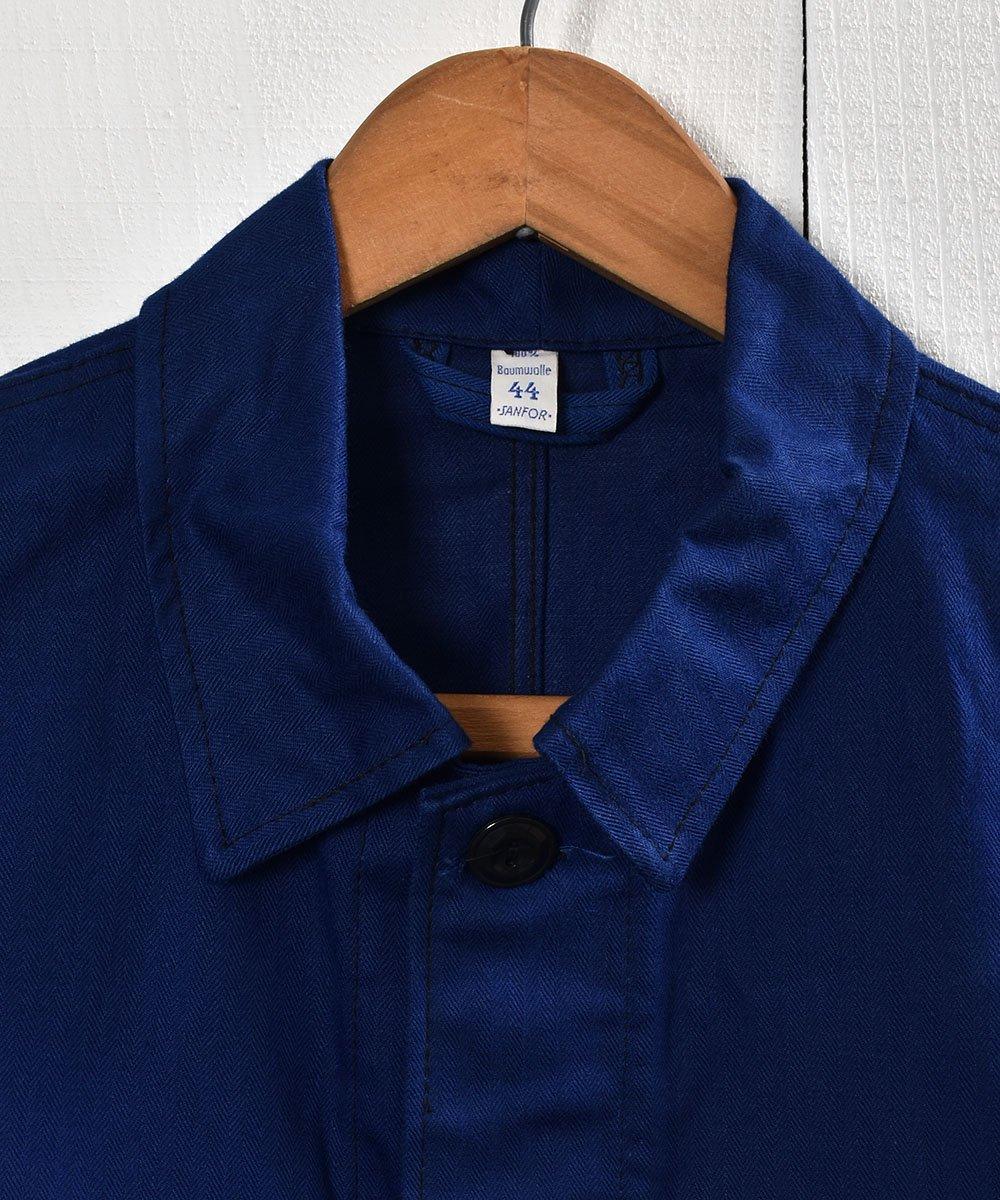 Made in Germany Herringbone Twill  Work Jacket | ドイツ製ヘリンボーン生地 ワークジャケット  | ユーロワークサムネイル