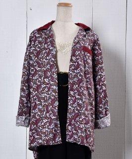 古着 Paisry Pattern Pajamas Shirt ペイズリー柄 フランネルパジャマシャツ  古着のネット通販 古着屋グレープフルーツムーン