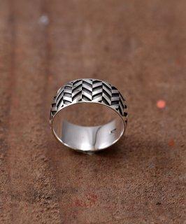 古着Silver Ring Arrow Feather | 矢羽根モチーフ シルバーリング 古着のネット通販 古着屋グレープフルーツムーン