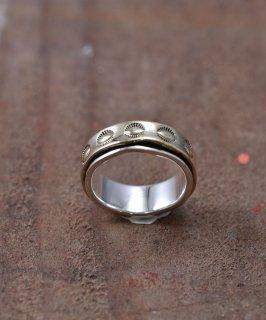 古着Silver Ring Pasting Brass | シルバー&真鍮 ネイティブデザイン リング 古着のネット通販 古着屋グレープフルーツムーン