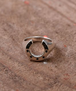 古着Silver Ring Horse Shoe & Star | 馬蹄&星モチーフシルバーリング 古着のネット通販 古着屋グレープフルーツムーン