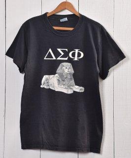 古着 Sphinx Print T Shirt | MADE IN USA|スフィンクス Tシャツ | アメリカ製|ブラック系 古着のネット通販 古着屋グレープフルーツムーン