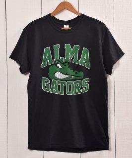 古着 Alligator Print Long Sleeve T-shirt |  ワニ プリント長袖 Tシャツ | ロンT | ブラック 古着のネット通販 古着屋グレープフルーツムーン