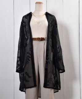 古着Leaf Sheer Shirt|リーフ柄シアーシャツ 古着のネット通販 古着屋グレープフルーツムーン
