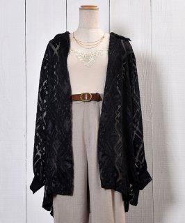 古着Check Pattern Sheer Shirt|チェック柄シアーシャツ 古着のネット通販 古着屋グレープフルーツムーン
