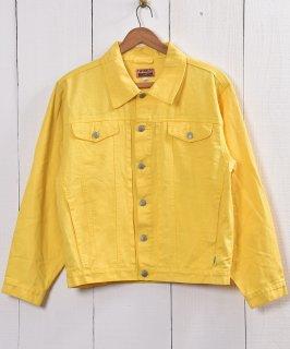古着 Yellow DenimJacket | デニムジャケット 古着 ネット 通販 古着屋グレープフルーツムーン