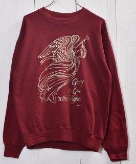 古着 Made in USA Angel Printed  Sweat |アメリカ製 天使 プリント スウェット 古着のネット通販 古着屋グレープフルーツムーン