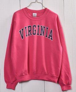 古着 VIRGINIA College Print Sweat |カレッジプリント スウェット 古着のネット通販 古着屋グレープフルーツムーン