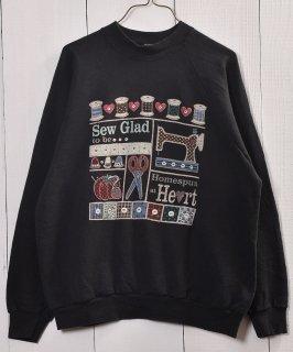 古着 Made in USA  Print Sweat|アメリカ製 プリント スウェット 古着のネット通販 古着屋グレープフルーツムーン