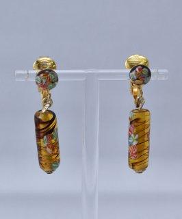 古着 Made in Europe Glass Earring | ヨーロッパ製 ガラスイヤリング 古着のネット通販 古着屋グレープフルーツムーン