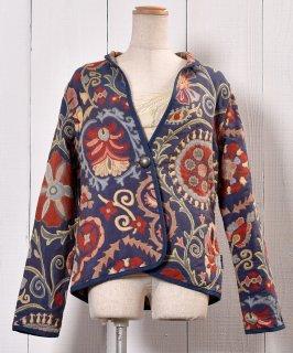 古着 Reversible Mandarin Collar Oriental Tailored  Jacket |リバーシブル 立襟 オリエンタル テーラードジャケット  古着のネット通販 古着屋グレープフルーツムーン