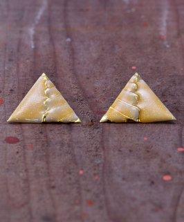 古着 Made in Europe Triangle Motif Pierce|ヨーロッパ製 三角  ピアス 古着のネット通販 古着屋グレープフルーツムーン