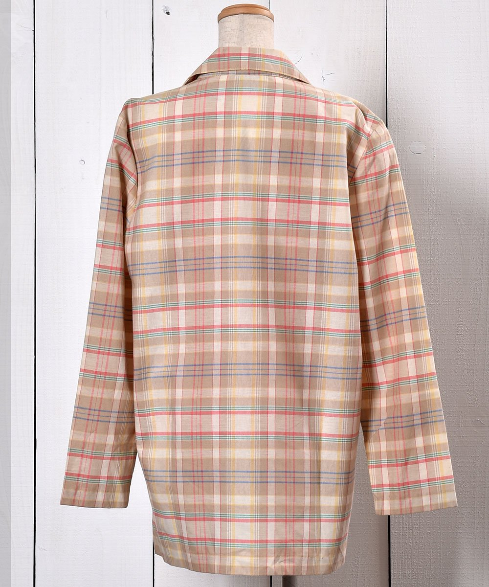 Check Pattern Tailored Jacket |チェック柄 テーラードジャケットサムネイル
