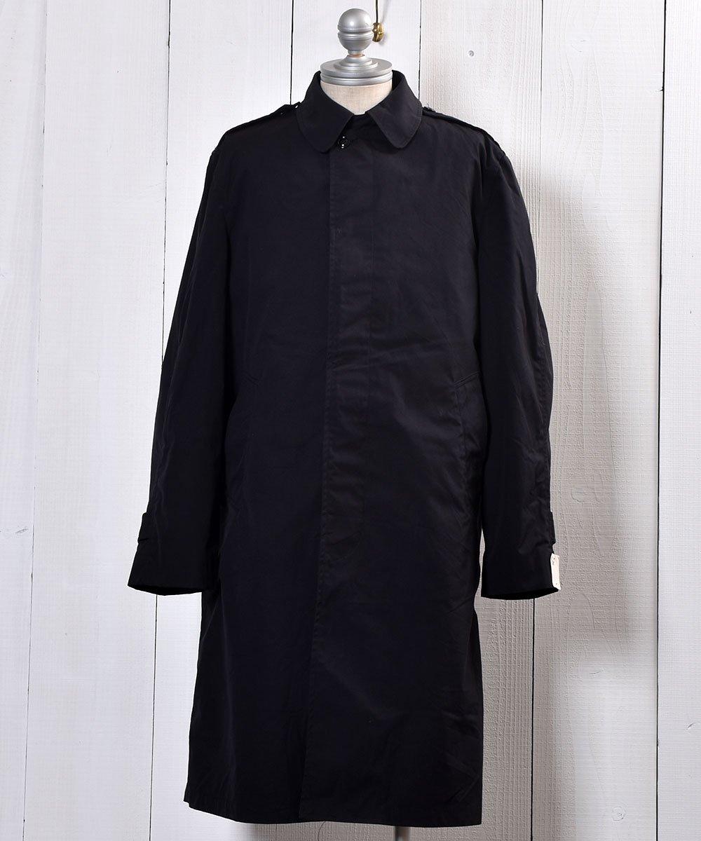 古着 US Miritary Coat | ミリタリー ステンカラーコート | ブラック 古着 ネット 通販 古着屋グレープフルーツムーン