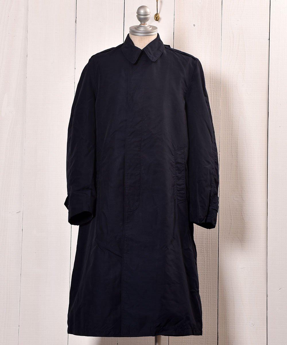 古着 US Miritary Coat | ミリタリースタンドフォールカラーコート | ネイビー系 古着 ネット 通販 古着屋グレープフルーツムーン