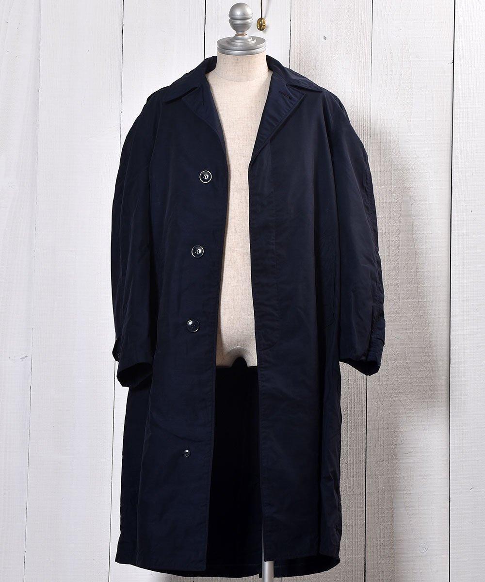US Miritary Coat | ミリタリースタンドフォールカラーコート | ネイビー系サムネイル