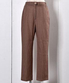 古着Brown Stipe  Pants | ストライプパンツ  古着のネット通販 古着屋グレープフルーツムーン